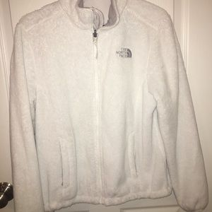 ❕❕WOMENS WHITE ZIP UP NORTH FACE❕❕